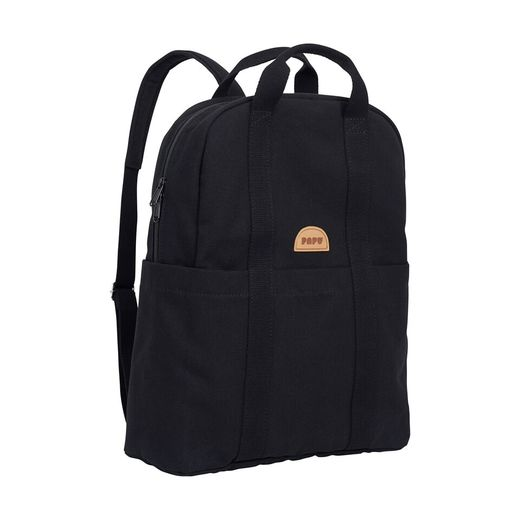 Papu - Kivi mini backpack, solid black