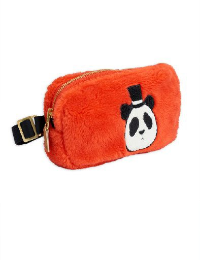 Mini Rodini - Faux fur bum bag, Red
