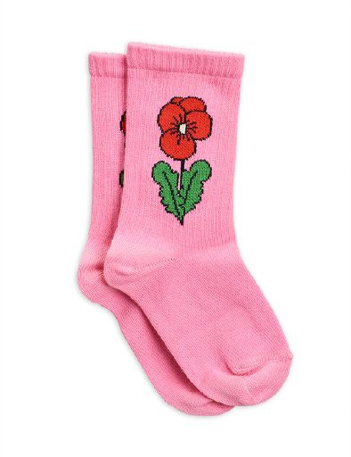 Mini Rodini - Viola socks, Pink