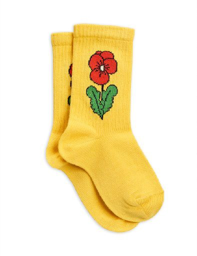 Mini Rodini - Viola socks, Yellow