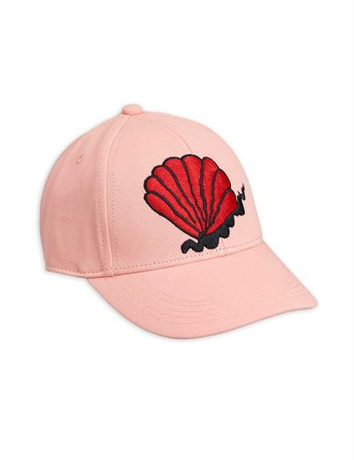 Mini Rodini - Shell cap, pink