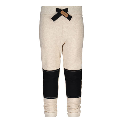 METSOLA - College pants Block, Sand of Africa / Black