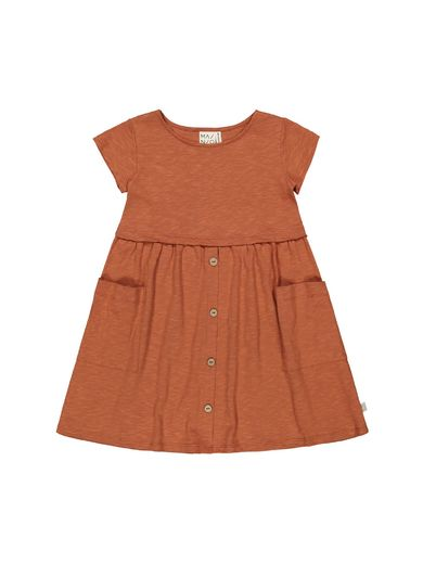 Mainio - Slub buttons dress (13030)