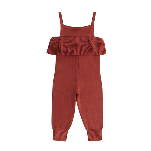 Maed for mini - Spicy Parrot Knit Jumpsuit (ss2019-27)