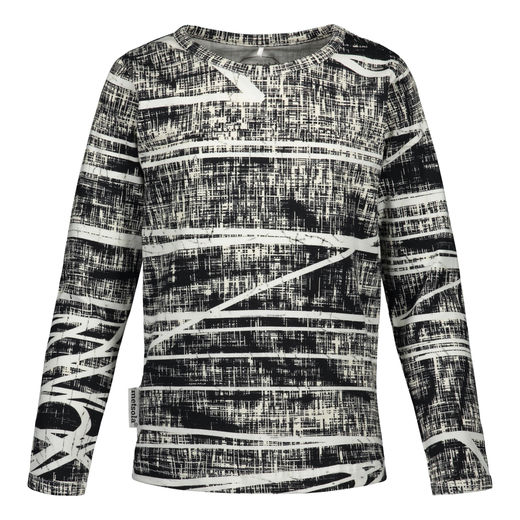 Metsola - Graphite T-shirt LS, grey