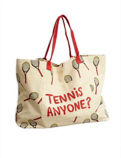 Mini Rodini - Tennis adult bag, white