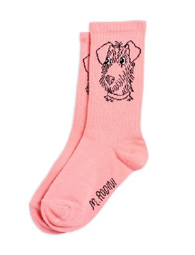 Mini Rodini - Terrier socks, Pink