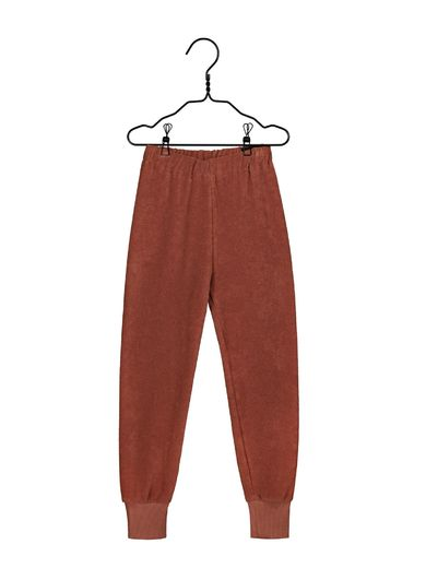 Mainio - Terry pants, russet (40017)