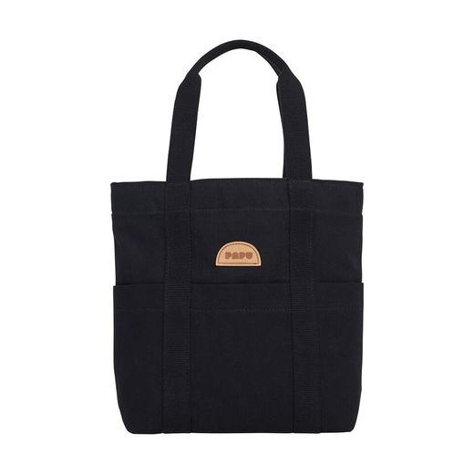 Papu - Kivi Tote bag, solid black
