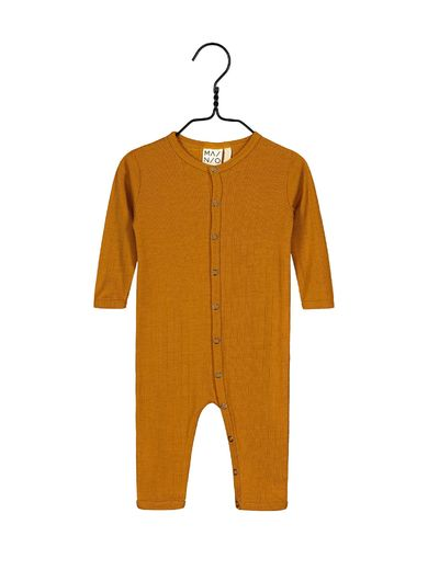Mainio -Merino wool one-piece, turmeric  (40008)