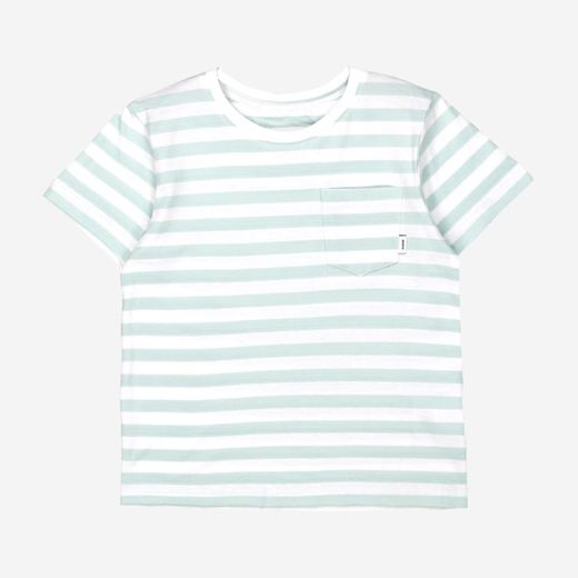 Makia - Verkstad T-Shirt, Mint / White