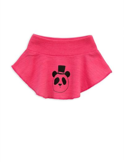 Mini Rodini - Panda sp wool turtleneck, cerise