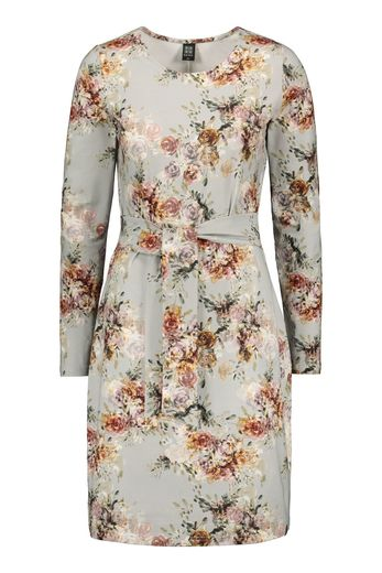 Kaiko - Belted dress, vintage flora